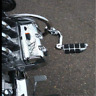 """1.25"""" Highway Foot Pegs Pedals For Harley Touring Road King Street Glide"""