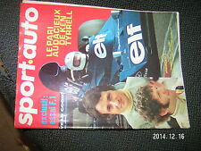 ** Sport Auto n°143 Ken Tyrrell Ecurie ELF Canam Scheckter