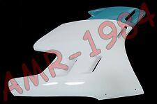 CARENA LATERALE DX APRILIA AF1 125 SINTESI 88 VERNICIATA BIANCO VERDE  AP8130785