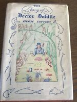 The Story of Doctor Doolittle Hugh lofting first edition later printing HC+DJ