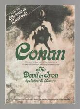 The Devil in Iron by Robert E. Howard (First Trade Paperback)