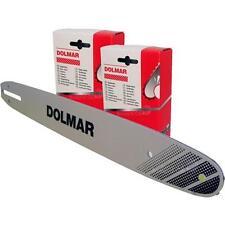 """DOLMAR Schneidgarnitur 40 Cm 3/8"""" 1.3 Mm Schwert Kette 412040661 528092756"""