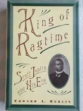 King Ragtime Scott Joplin His Era Edw Berlin HBDJ Unused