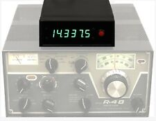 CUSTOM DIGITAL FREQUENCY DISPLAY for DRAKE R-4 R-4A R-4B R-4C T-4X - GREEN LED