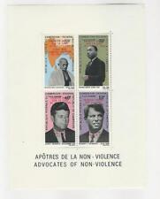 Cameroun, Postage Stamp, #C115a Overprint Mint NH, 1969 Moon Landing