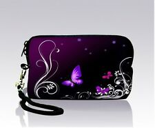 PURPLE Digital Zipper Bag Case Pouch Cover For iPhone 3G 3GS 4 4S Small Camera