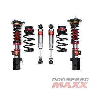 for RAV4 06-12 MAXX Coilovers Suspension Lowering Kit Adjustable