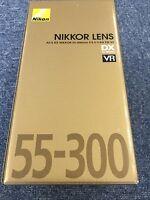 New Free Shipping Nikon Zoom Lens AF-S DX NIKKOR 55-300mm F4.5-5.6 G ED VR Japan