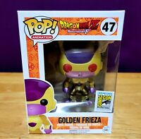 Funko Pop! Dragonball Z Golden Frieza #47 Vinyl Figure Red Eyes, SDCC | BX DMG