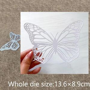 Metal Cutting Dies Mold Butterfly DIY Scrapbook Paper Craft Blade Punch Stencils