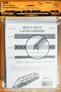 Central Valley HO #1900-5 Heavy Duty Laced Griders (Plastic Part) NEW
