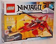 SEALED 70721 LEGO Ninjago KAI FIGHTER Red Ninja Vehicle Jet Cyborg 196pc RETIRED