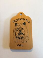 Happiness is a Cairn (Terrier) Key Ring