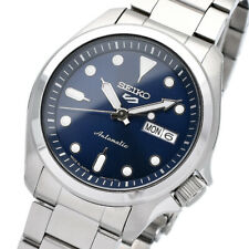 New SEIKO 5 SBSA043 Automatic 40mm Navy Dial 24 Jewels Japan Made