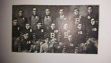 Blairstown New Jersey Academy 1906 Mini Football Team Picture Rare!