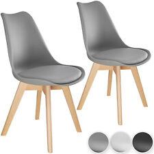 Esszimmerstuhl 2er Set Küchenstuhl Büro Wohnzimmer Stuhl Beine aus Massiv Holz