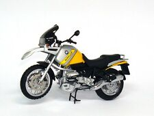 BMW R 850 GS R850GS - arktissilber dakargelb silver yellow - Minichamps 1:24