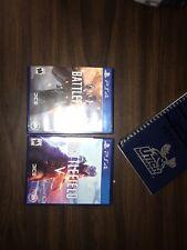 Battlefield V Five 5 Playstation PS4 & Battlefield 1