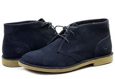 TIMBERLAND MEN'S EARTHKEEPERS BRASSTOWN CHUKKA BOOTS NAVY SUEDE SIZE 8 M