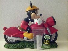 Disney- (I Am Solar) Motorcycle Mickey !New With Tags And Ready To Be Shipped!