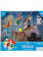 Disney Parks Little Mermaid Ariel Collectible Figurine Play Set Cake Topper New