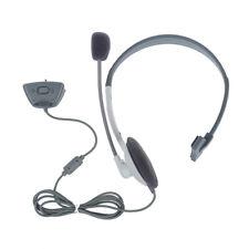 Earphone Headphone Headset Mic for Xbox 360 Live Game G6S8