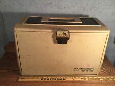 Old Pal Pf 7000 Woodstream Vintage Tackle Fishing Box Usa Rare Large