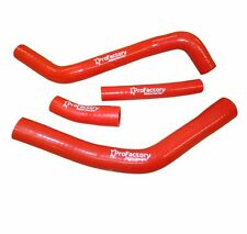 Yamaha Yz 125 Yz125 Radiator Hose Kit Pro Factory Hoses 2002-2015 Red