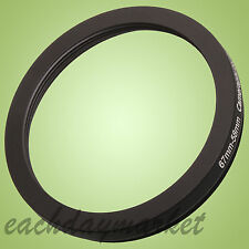 67mm to 58mm 67-58mm 67mm-58mm 67-58 Stepping Step Down Filter Ring Adapter
