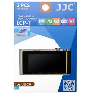 JJC LCP-T polycarbonate LCD Film Screen Protector For Leica T 2 Pack