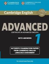 Buy english language advanced proficiency study books ebay cambridge english advanced 1 for revised exam from 2015 students book with answers authentic examination fandeluxe Images