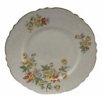 Homer Laughlin Republic Fine China Ironstone Sm Dinner Plate Yellow Orang Flower