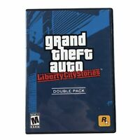Grand Theft Auto: Liberty City Stories Double Pack PlayStation 2 w/Map & Manual