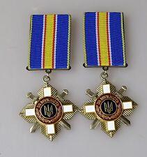 Original medallas ucrania medalla para el valor de ucrania 2 St.