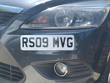 Front Stick On Mini Number Plate / Static Plate For Car, Van, Lorry 300mm X 85mm