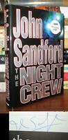 Sandford, John THE NIGHT CREW Signed 1st 1st Edition 1st Printing