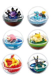 Pokemon Terrarium Collection 4 Pokeball Full Set by Re-ment