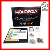 Monopoly Game of Thrones Collectors Edition Board Game Official Licensed Hasbro