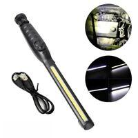 COB LED AKKU KFZ Arbeitslampe Werkstattleuchte Magnet Stablampe USB Handlampe DE