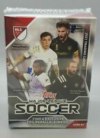 2021 Topps Major League Soccer MLS Factory Sealed Blaster Box W/ 4 FOIL CARDS🔥