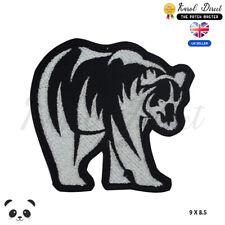 Grizzly Bear American Bear Animal Bordado Hierro En Parche para Coser Insignia