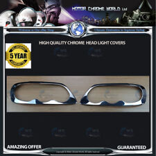 FITS VOLKSWAGEN CADDY CHROME HEAD LIGHT COVERS QUALITY 3y GUARANTEE 2004-2009