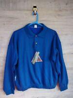 vtg 90s 80s le coq sportif Graphic sweatshirt sweater jumper refA8 medium