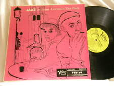 DON BYAS & BERNARD PEIFFER Jazz from St. Germain Des Pres Verve 8119 mono dg LP
