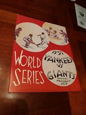 1937 Yankees vs. New York Giants World Series Program - REPRODUCTION