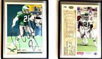Eric Allen Signed 1992 Upper Deck #158 Card Philadelphia Eagles Auto Autograph