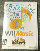 Wii Music (Nintendo Wii, 2008) - Complete w/ Manual - Free Shipping