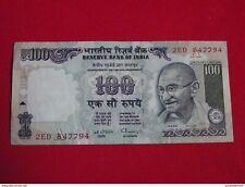 INDE - INDIA 100 Rupees 1996 Pick 91d - ttb+ !
