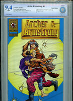 Gold Archer & Armstrong #0 CBCS 9.4 NM Comic New 1993 Valiant Comics H14