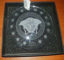 VERSACE Rosenthal  Medusa  Clear Crystal Sun Catcher
